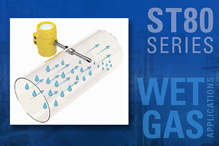 FCI releases Wet Gas MASSter Sensor for the ST80 Series Flow Meters