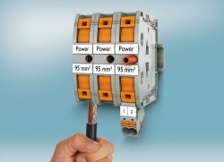 Phoenix Contact introduces PTPOWER 95 high-current terminals