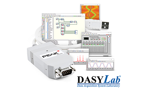 DASYLab Measurement Software Supports CAN Interfaces from PEAK-System