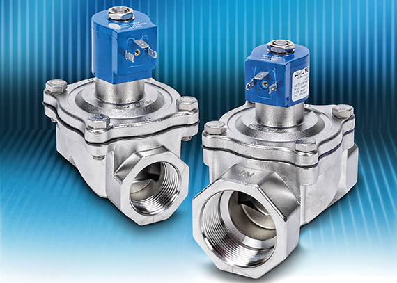 AutomationDirect announces GC Valves NS-Series NSF certified solenoid valves