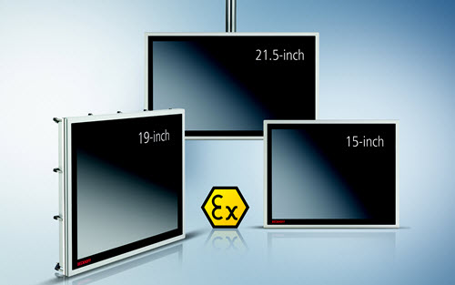 CPX series displays from Beckhoff are Zone 2/22 classified for harsh process environments. The range of panels includes a wide selection of screen sizes, installation options and features.