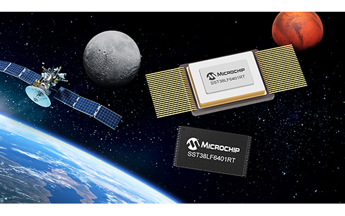 Microchip Adds 64 Mbit Parallel SuperFlash Memory to its Family of Radiation-Tolerant COTS-Based Devices for Space Systems