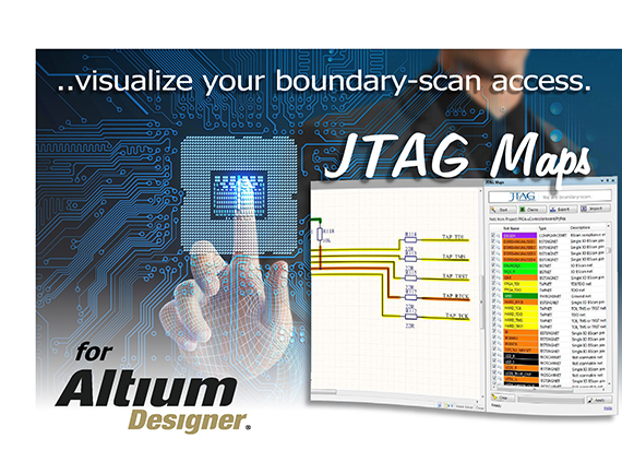 JTAG Technologies to introduces JTAG Maps extension to Altium Designer tool