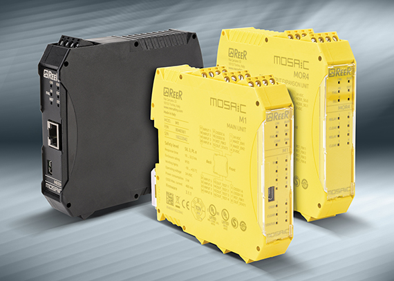AutomationDirect introduces ReeR MOSAIC safety controller system