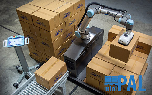 Columbia/Okura's miniPAL® Now Featured as Part of Universal Robots UR+ Application Kits