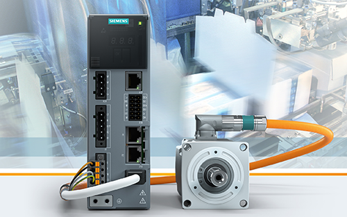 Siemens Introduces Servo Drive System Simplifying Motion Control for Machine Builders