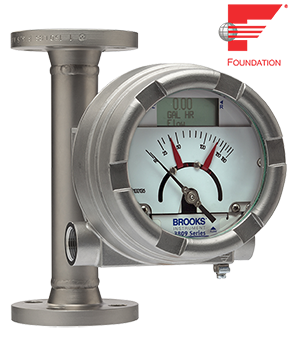 Brooks Instrument announces MT3809 variable area (VA) flow meter with FOUNDATION Fieldbus transmitter
