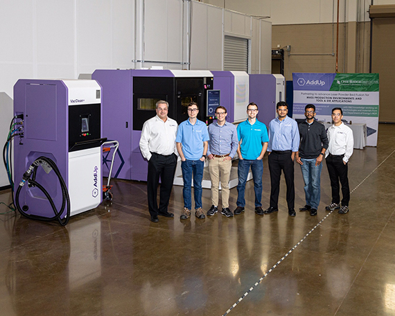 AddUp and Oak ORNL announce collaboration to advance metal additive manufacturing tooling applications