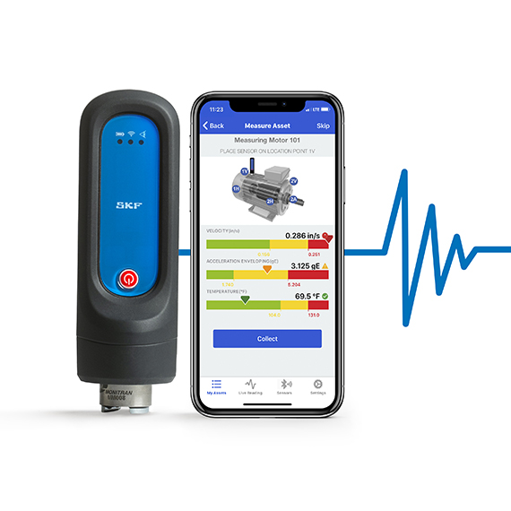 SKF announces SKF Pulse condition-monitoring tool for rotating equipment
